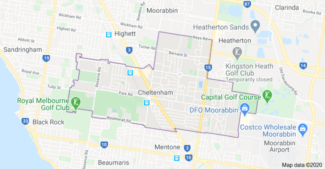 electrician oakleigh map